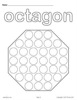 300x388 Free Octagon Worksheet
