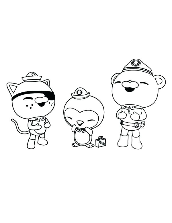 600x775 Octonauts Coloring Pages Coloring Pages Coloring Pages S Coloring