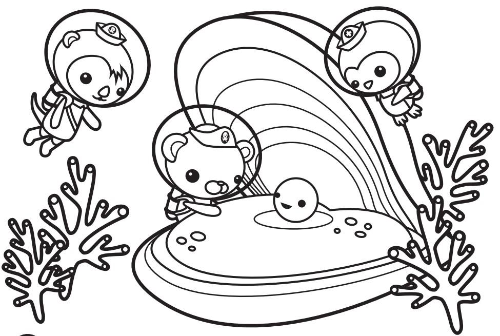 Octonauts Drawing at GetDrawings   Free download