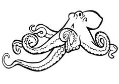 236x167 Drawn Octopus Simple