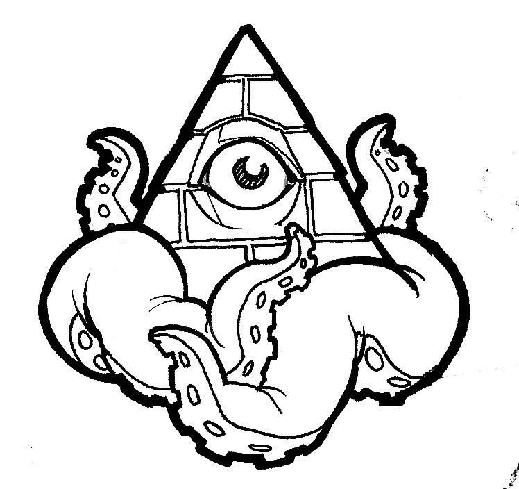 748x704 Pyramid Tentacles By Austen Zaleski I'M Kinda Assuming