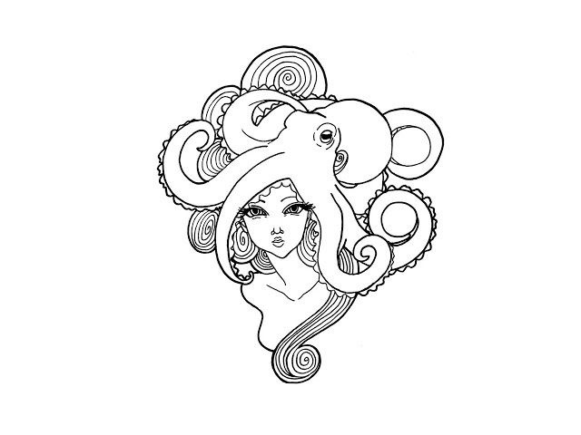 Octupus Drawing