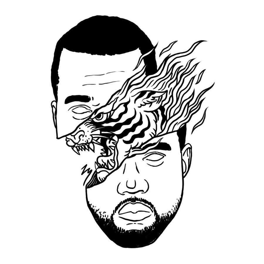 900x900 Tyler The Creator Odd Future Drawing Illustration Art The Weeknd