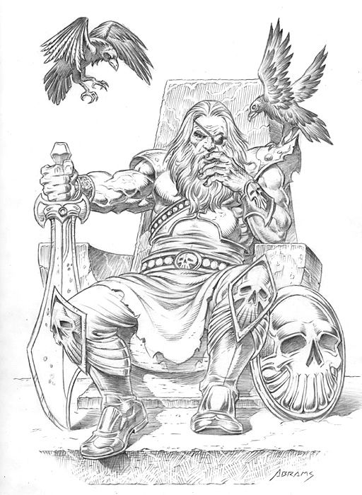 Odin Drawing