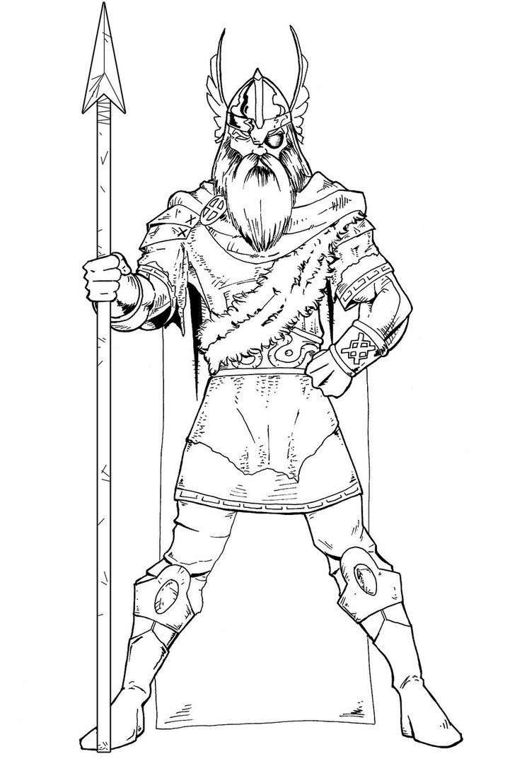 The Best Free Odin Drawing Images  Download From 72 Free