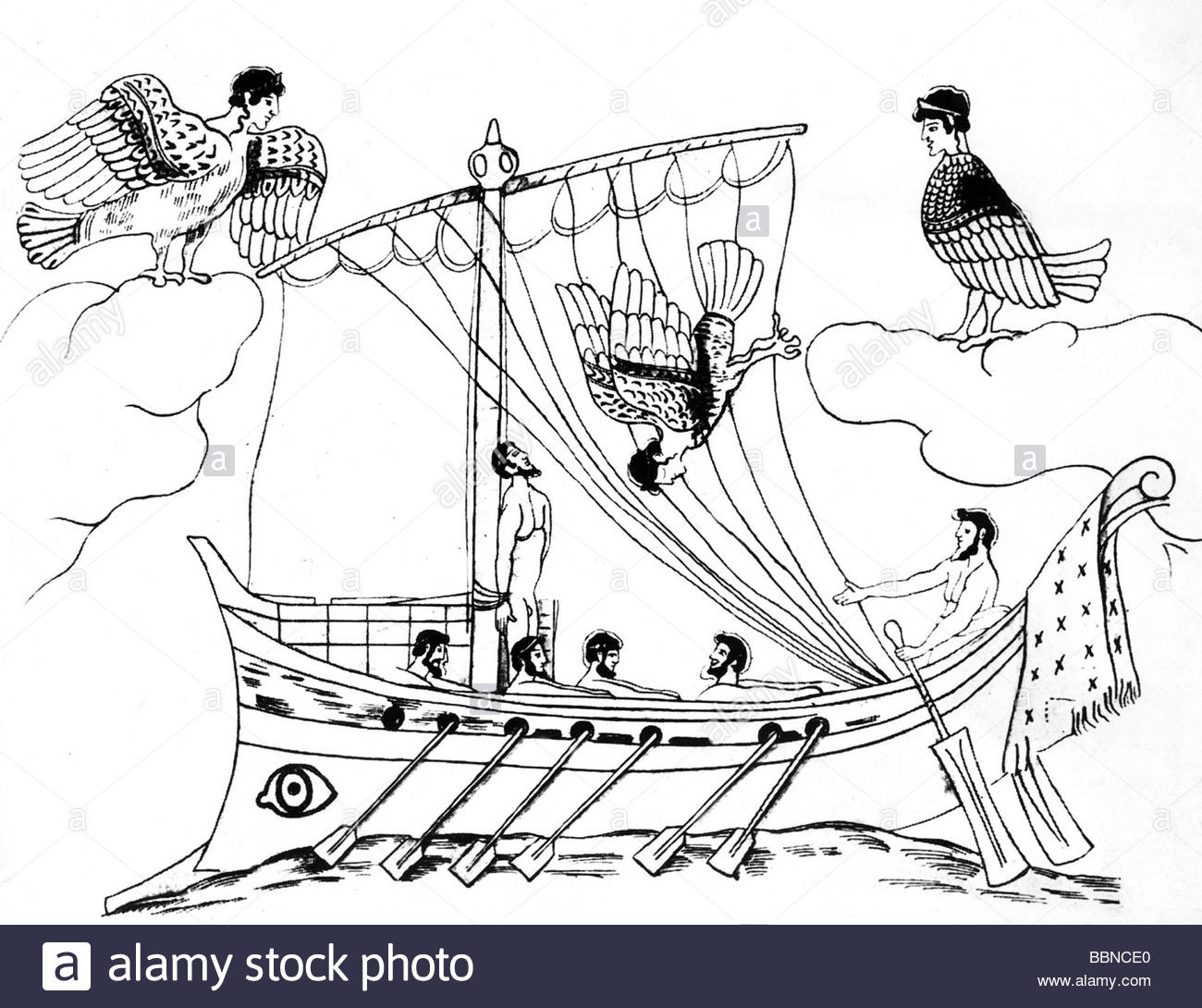 1300x1090 Odysseus (Ulysses), Greek King Of Ithaca And Hero, Passing