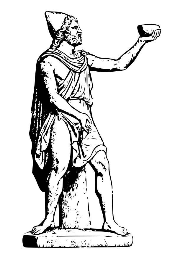 620x875 Coloring Page Odysseus