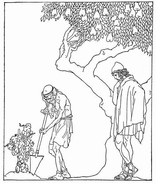 499x584 Project Gutenberg Ebook Of Adventures Of Odysseus And