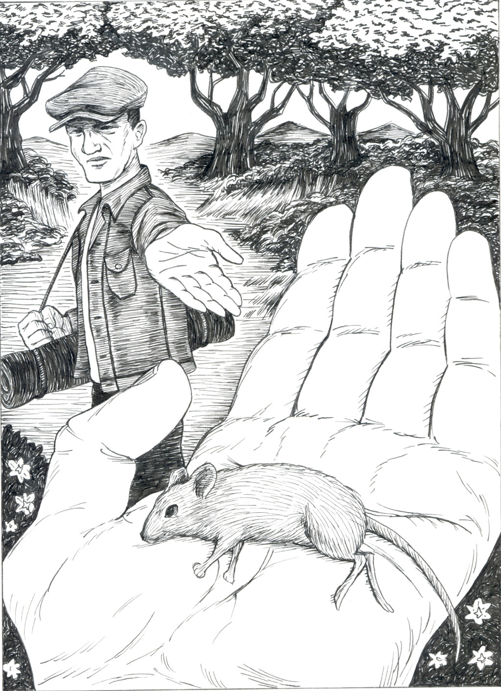 1024x1411 Of Mice And Men Drawing Of Mice And Men