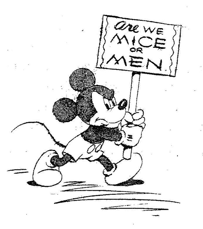 680x768 Disney Mickey Are We Mice Or Men
