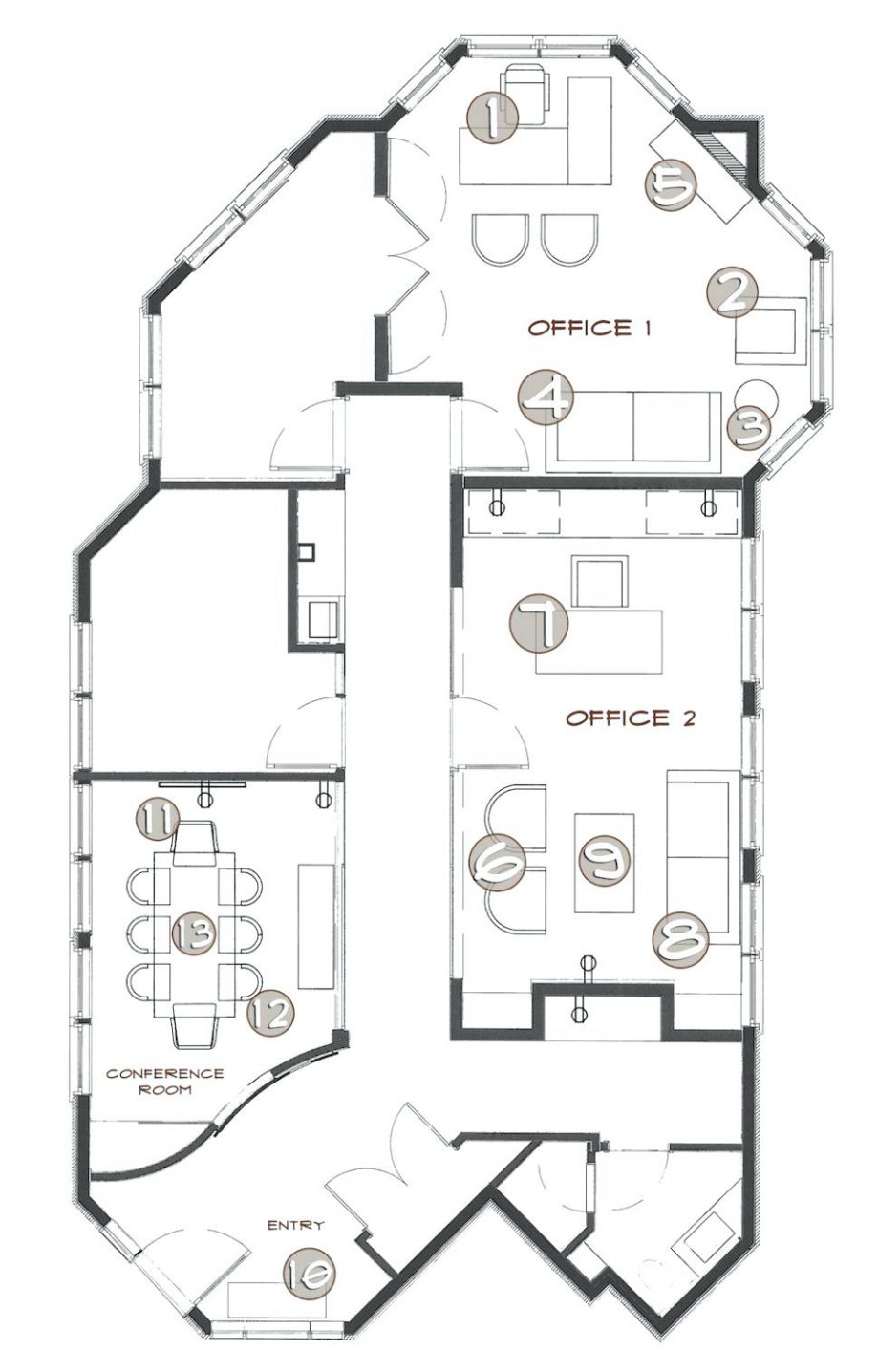 office building drawing at getdrawings com