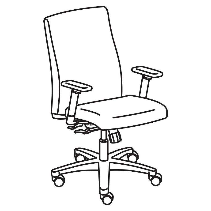 900x900 Hon Ignition Hiwm1 Mid Back Management Chair