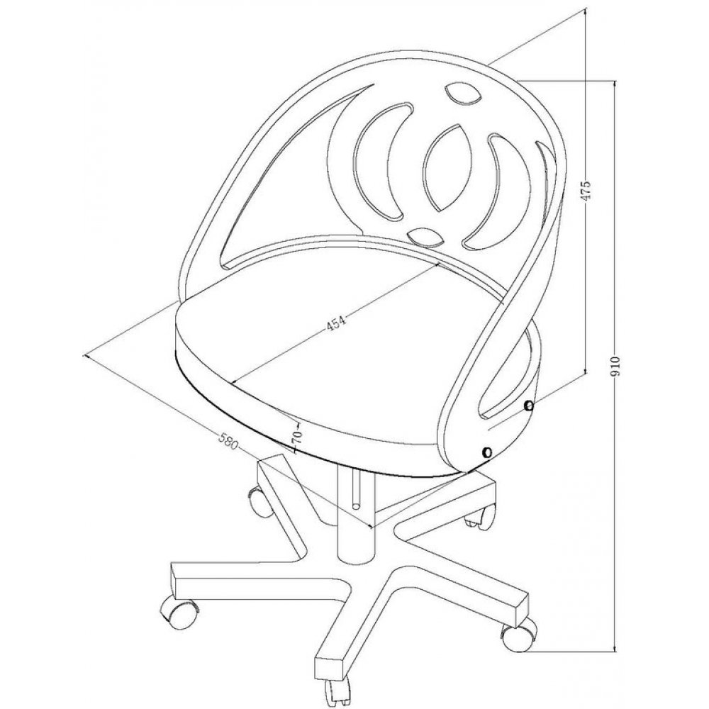 1000x1000 Home Office Chair