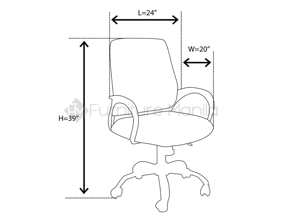 940x730 946 Office Chair Home Amp Office Furniture Philippines