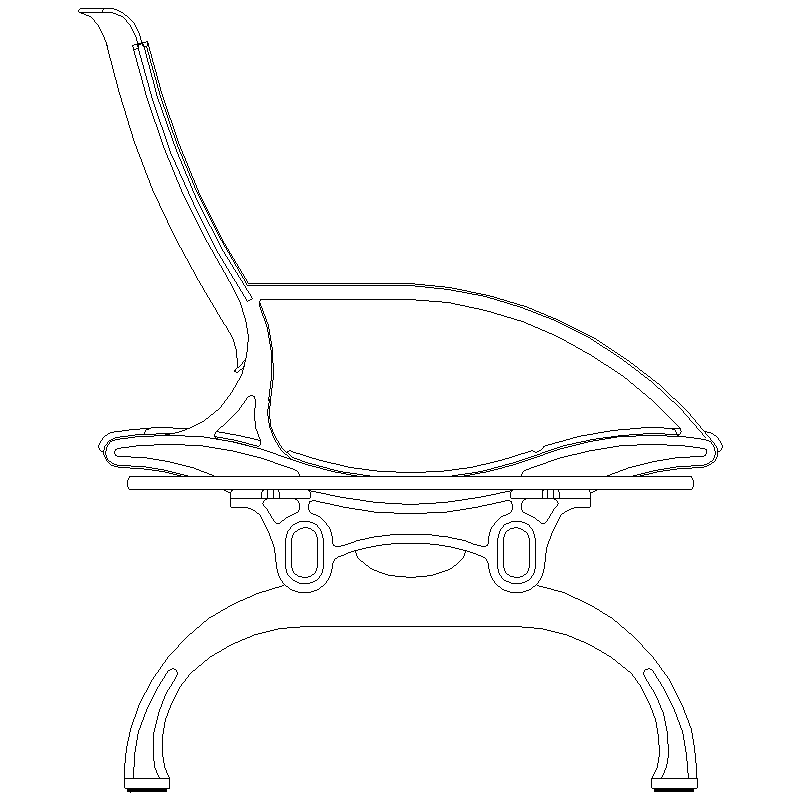 800x800 Office Chair 8 Cad Block Free Download