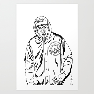 400x400 Flog Gnaw Art Print By Christinabrunette