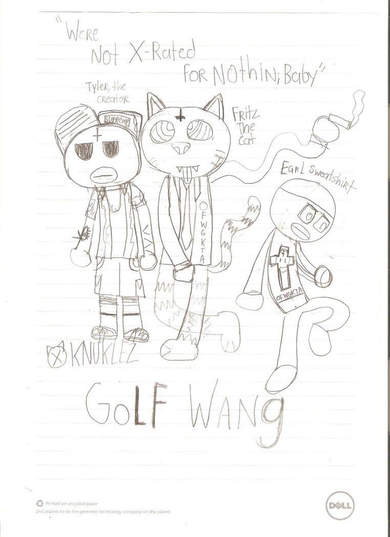 762x1048 Ofwgkta And Fritz The Cat By Knuklez