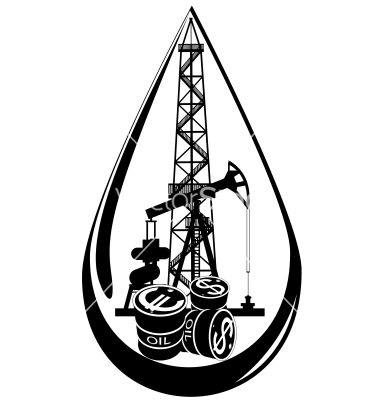 380x400 The Oil Business Vector 937059