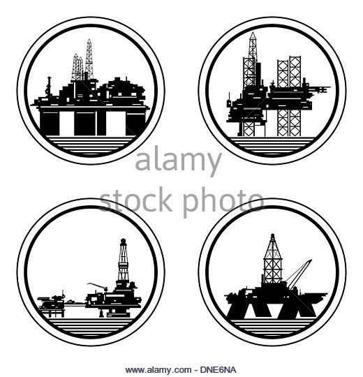520x540 Drilling Rig Black And White Stock Photos Amp Images