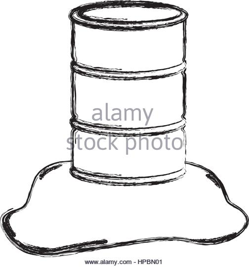 504x540 Oil Barrel Sketch Stock Photos Amp Oil Barrel Sketch Stock Images