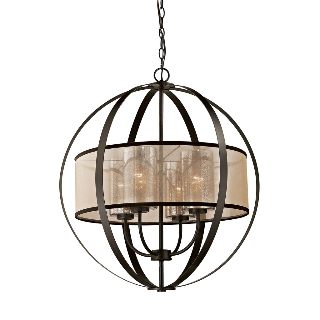 1024x1024 Diffusion 4 Light Chandelier In Oil Rubbed Bronze Lumiere Lamps