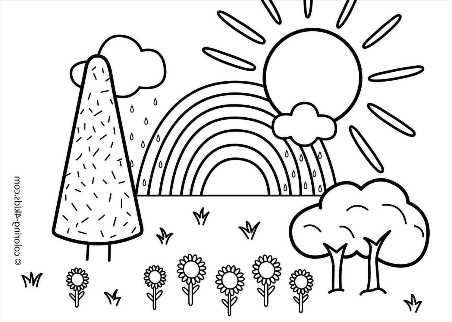 1500x1070 Landscape Drawing Ideas For Kids