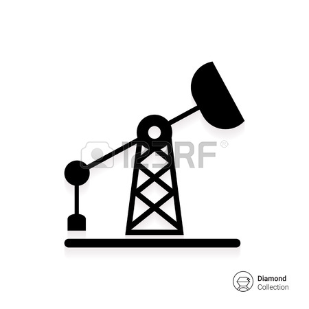 450x450 Oil Rig Icon Royalty Free Cliparts, Vectors, And Stock