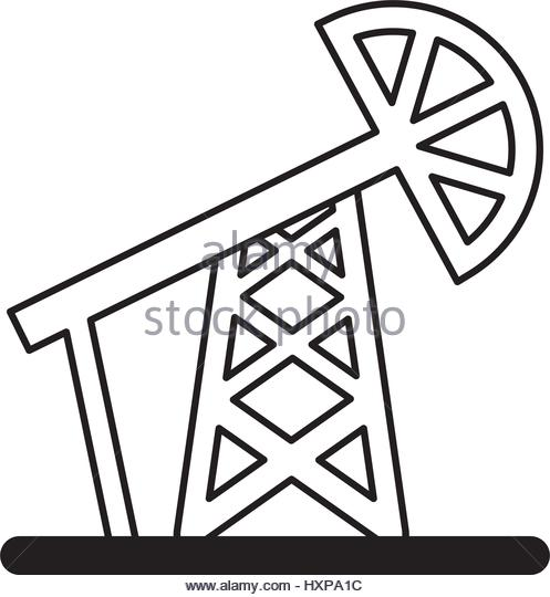 497x540 Drilling Oil Plant Icon Vector Stock Photos Amp Drilling Oil Plant