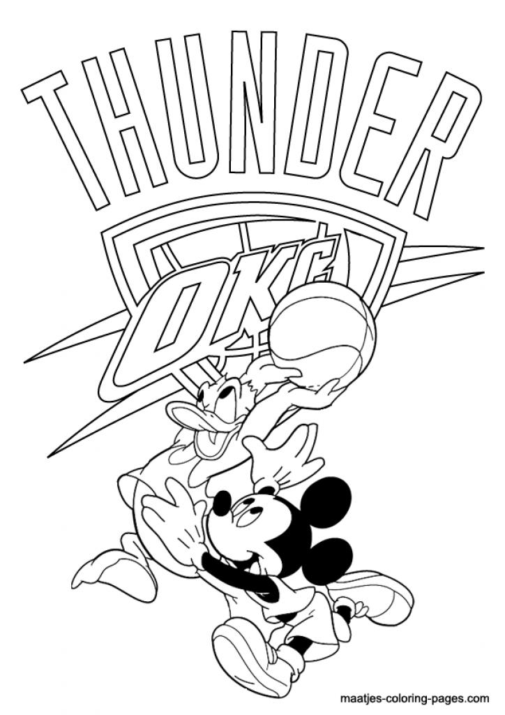 724x1024 Pics Of Okc Logo Coloring Pages Okc Thunder Logo Coloring Okc