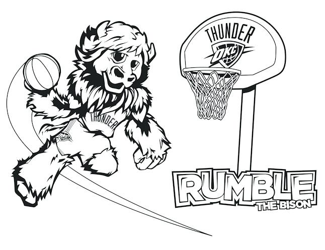 646x497 Great Oklahoma Coloring Page Print Pages City Thunder Com Rumble