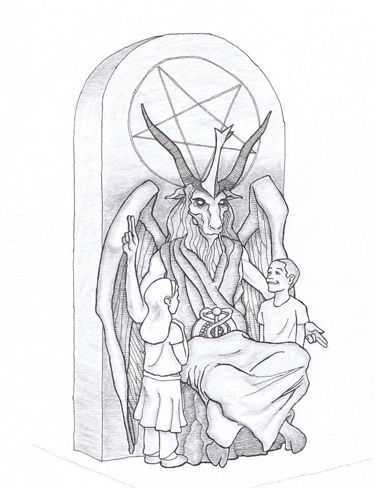 737x960 Group Unveils Satan Statue Design For Oklahoma Kgou