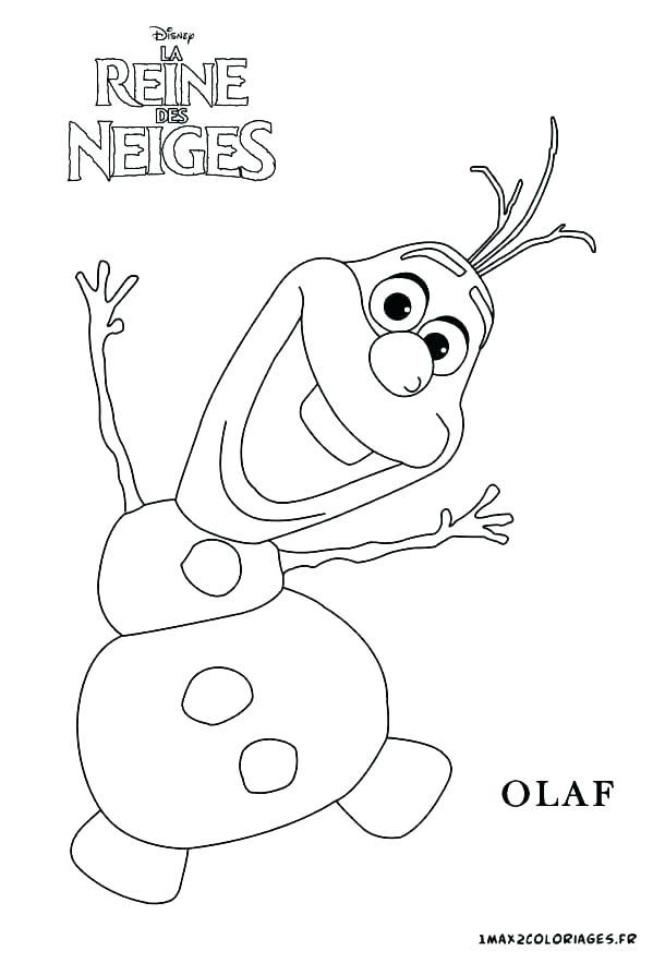 Olaf Cartoon Drawing at GetDrawings | Free download