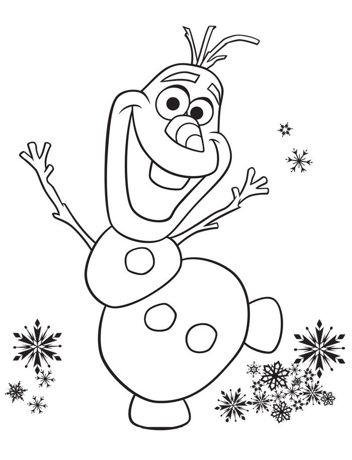 700x914 Frozen Coloring Pages Olaf Disney Olaf, Disney