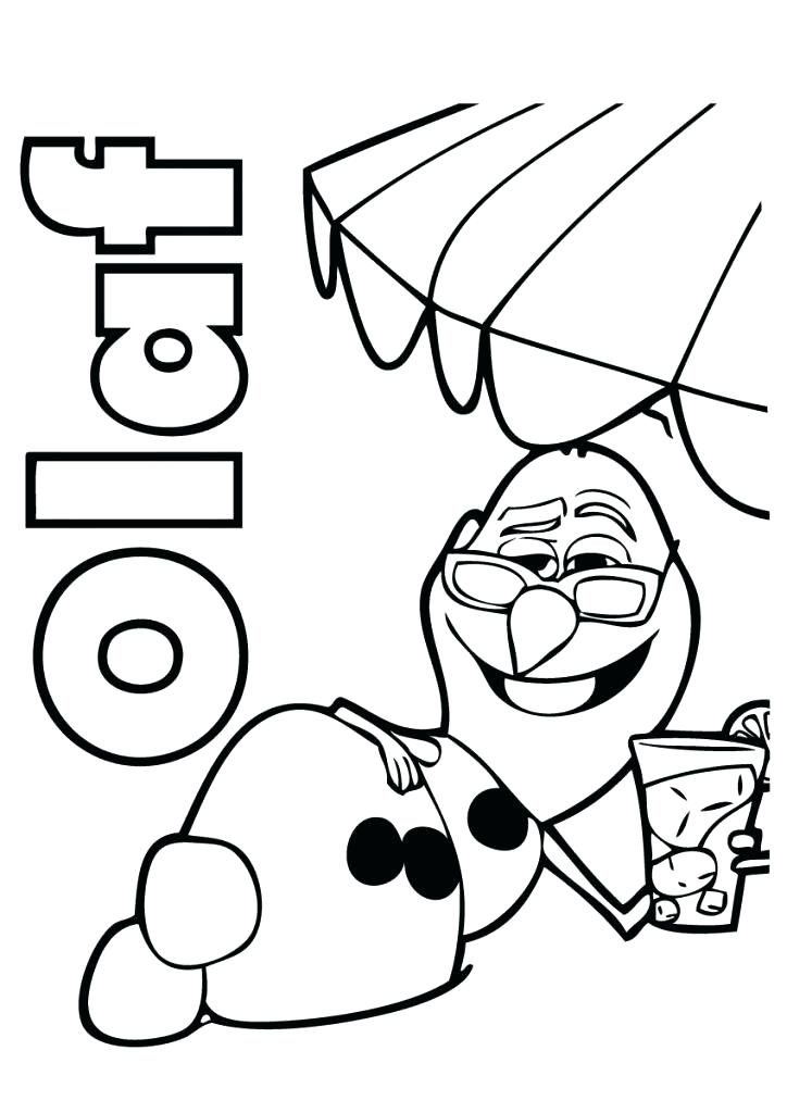 724x1024 Frozen Olaf Coloring Pages 77 Packed With Coloring Pages Printable