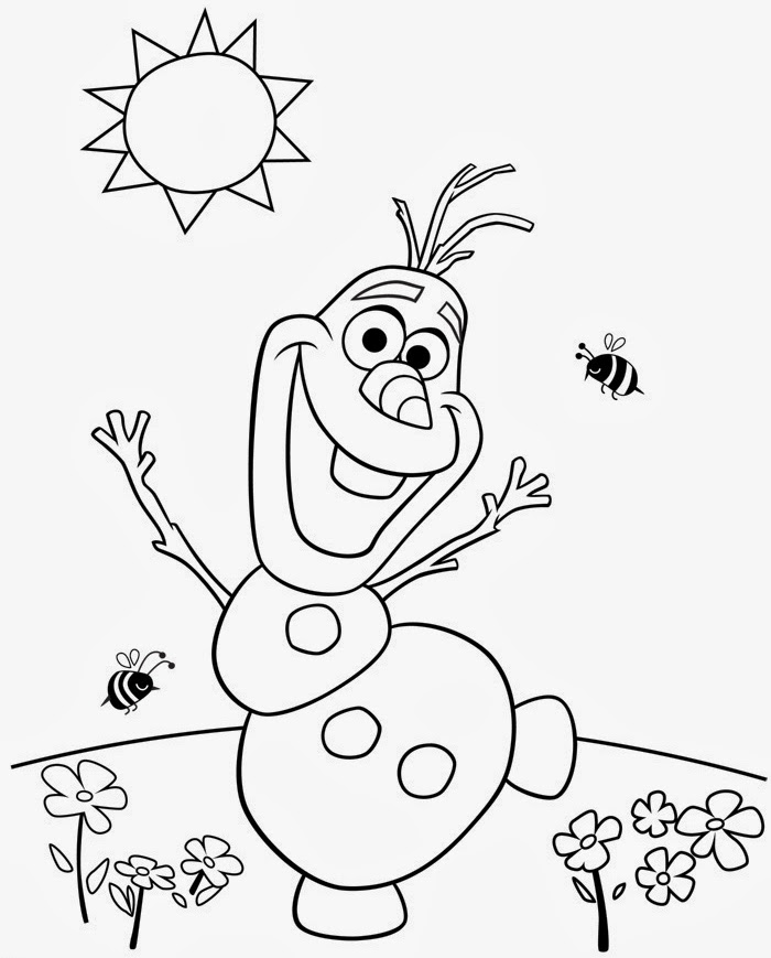 700x869 Olaf Frozen Coloring Pages To Print Coloring Page For Kids