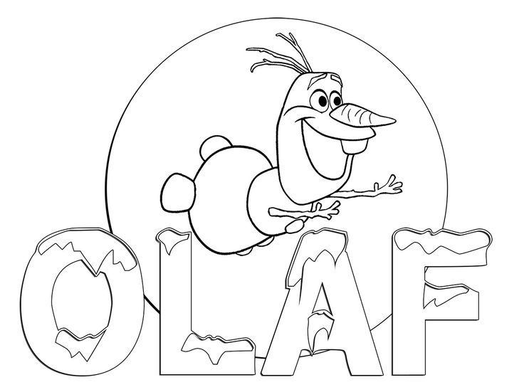 736x551 Olaf Frozen Coloring Pages To Print Coloring Page For Kids