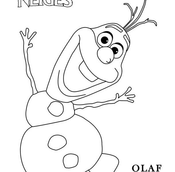 610x600 olaf the snowman coloring pages good olaf coloring pages 25 about