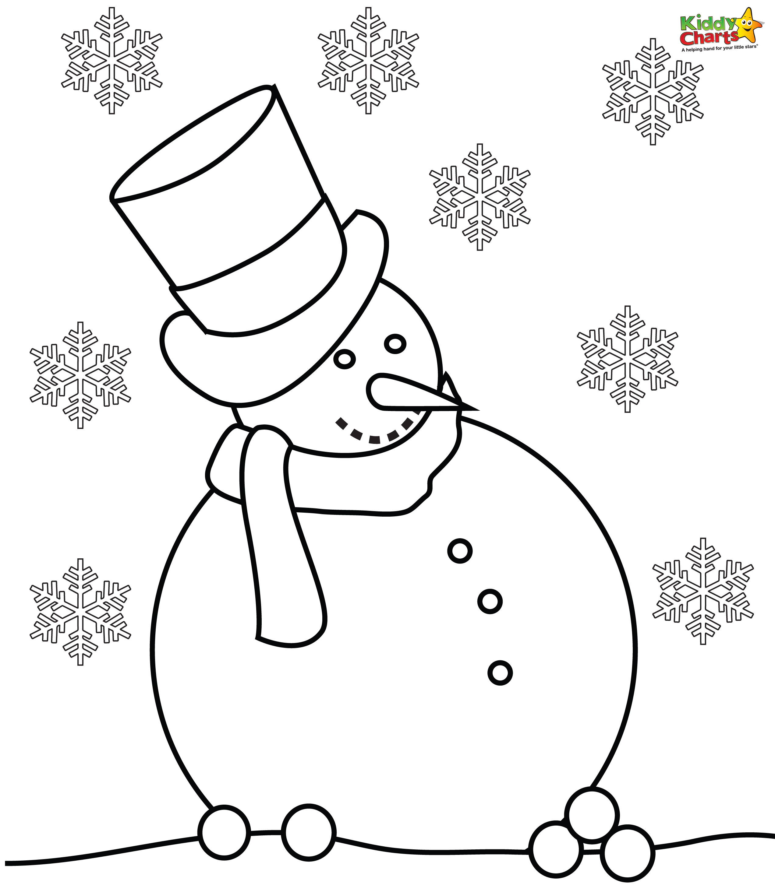 2544x2907 snowman hat coloring page pages