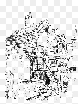 260x343 Retro Building, Ancient Architecture, Drawing Architecture