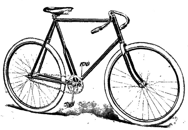 Old Bicycle Drawing