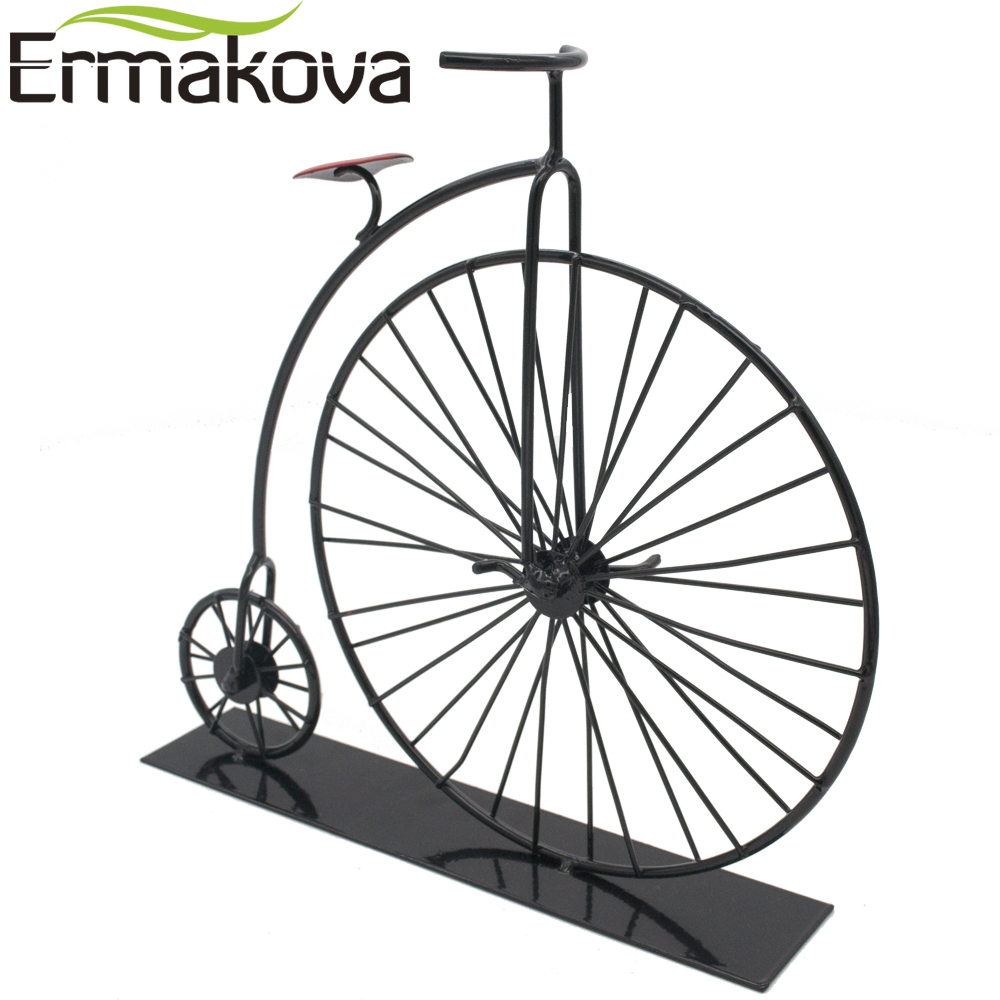 1000x1000 Ermakova Metal Crafts Old Bicycle Model Retro Vintage Old Bike
