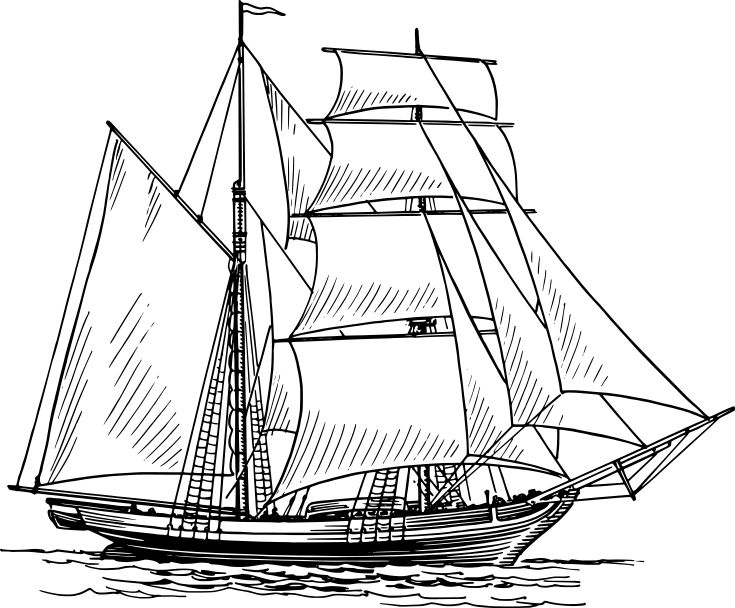 735x608 95 Best Sailing Ships Images On Sailing Ships, Tall