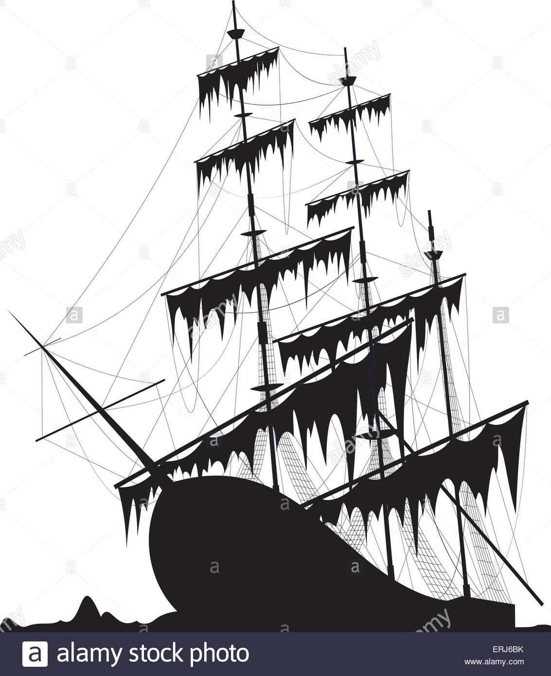 1133x1390 Black Old Ship
