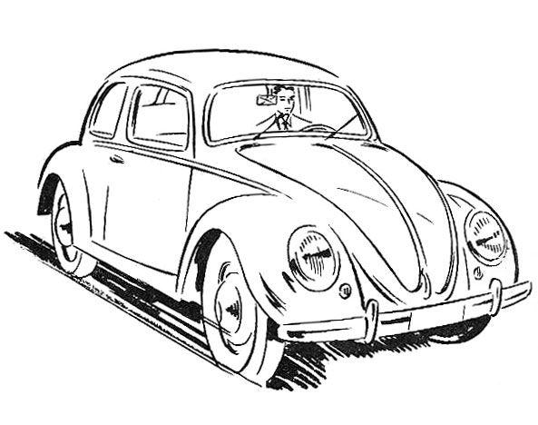 593x468 Drawn Vehicle Beetle