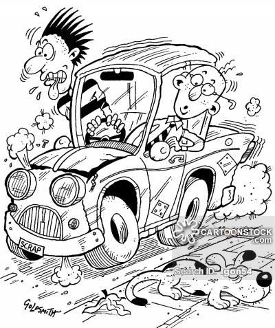 400x477 Old Car Cartoons And Comics