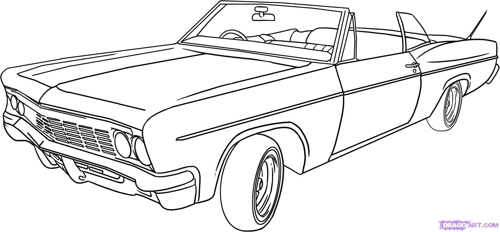 1612x748 Old Cars Coloring Pages. Car Coloring Pages To Print For Car Sport
