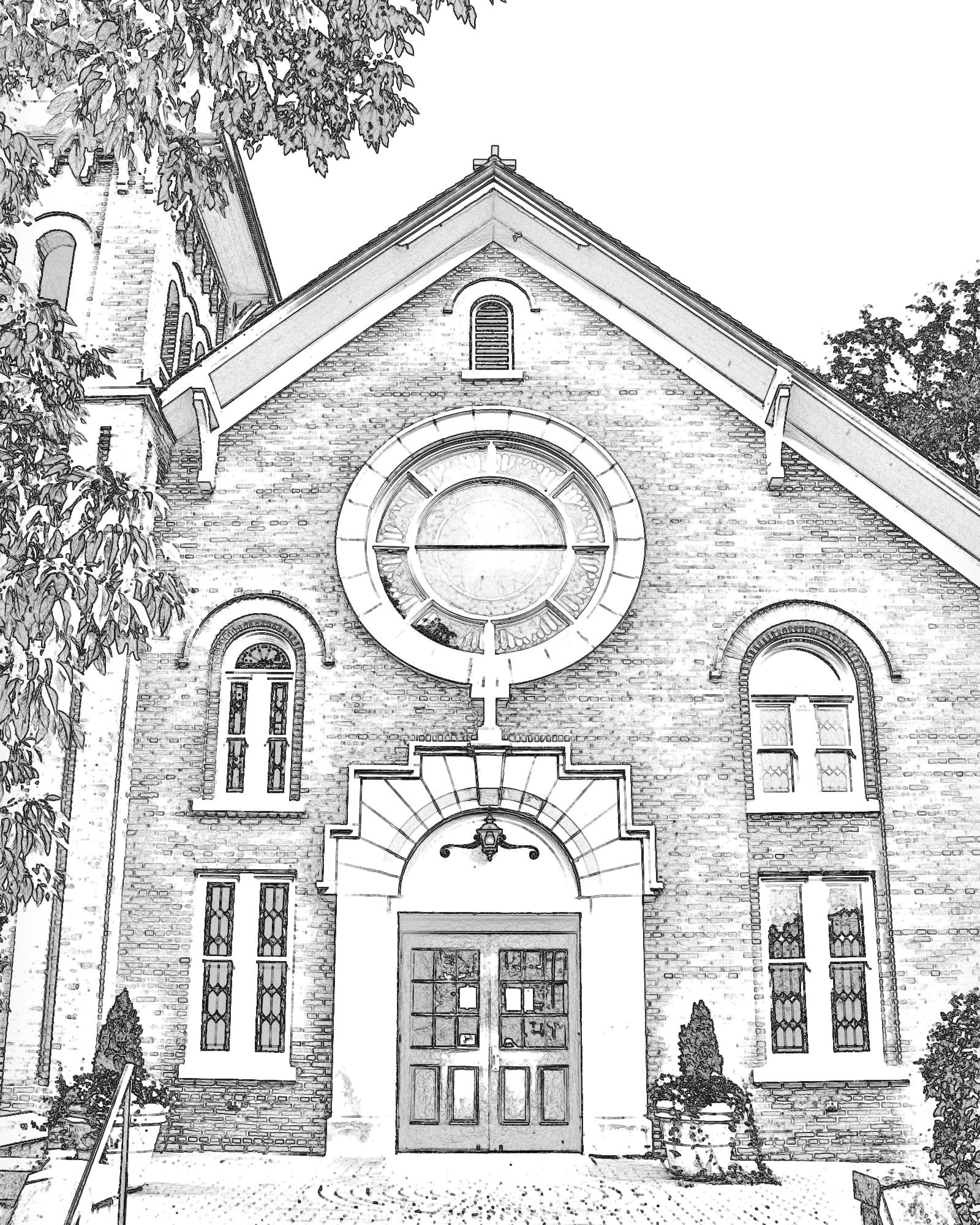 1600x2000 St. Patrick Catholic Church History