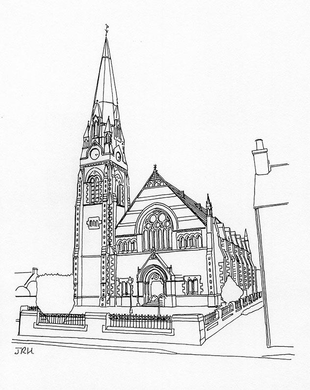 632x795 Comrie Parish Church