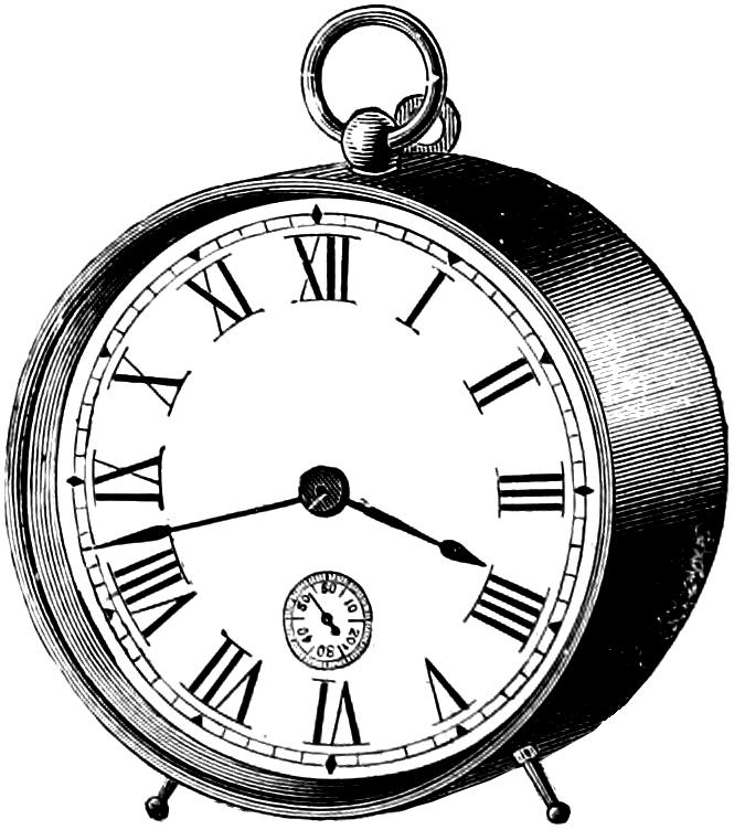 Old Clock Drawing At Getdrawings Com