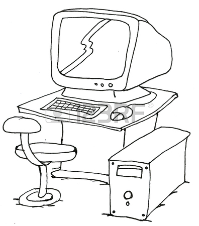 396x450 Computer Drawing Stock Photos. Royalty Free Business Images